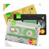 Tile- credit card stack