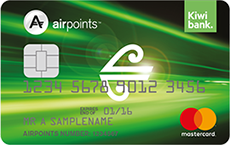 air nz airpoints credit cards