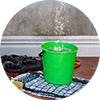 Tile - hot water bucket