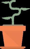 Grow your wealth - money tree illustration